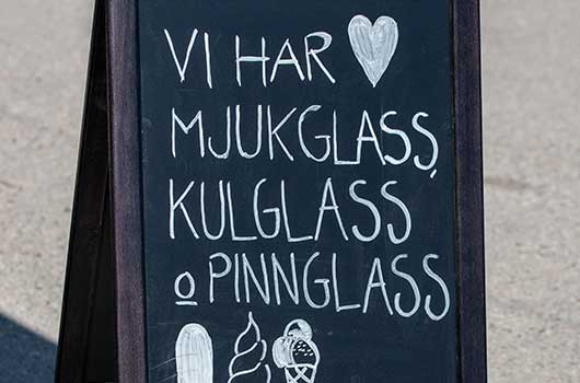 Glass, glass och glass